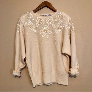 Vintage 1980s Marisa Christina lambswool sweater